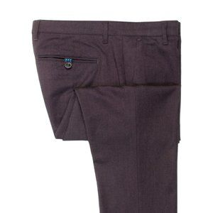 Ted Baker Merlot Twill Willham Trousers 38